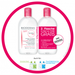 Bioderma Aktion 2x500ml